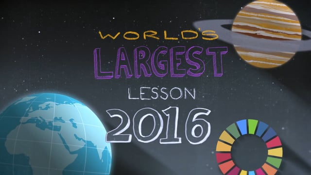 Sir Ken Robinson, Emma Watson and Aardman Animations invite children to get involved in theGlobal Goalsfor Sustainable Developmentbyinventing,innovatingandcampaigning in The World's Largest Lesson2016.