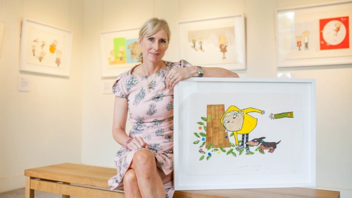 Lauren Child MBE says the 'Safeguarding culture is scuppering young people's creativity.'